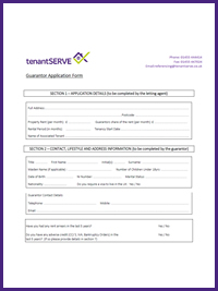 Tenant Forms